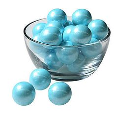These Light Blue Solid Color Gumballs are sure to add color and definition to your party. Each package contains 8 ounces of gumballs.