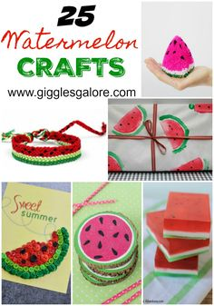 25 Watermelon Crafts