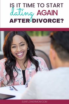 Whether you're divorced or separated at some point you'll begin to wonder if its time to start dating again. When kids are involved, it can be hard to know when's the right time to date. The questions in this article will help prepare you. Dating A Single Dad, Single Dads, Dating Again, Dating After Divorce, Kid Dates, Dating Over 50, Divorce Process, Every Mom Needs, Dating Women