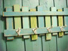 Beach Fence Hook Rack Coat Rack Beach House Decor on Etsy, $49.00