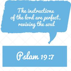 PSALMS NLT The instructions of the lord are perfect, reviving the soul. The decrees of the lord are trustworthy, making wise the simple. The commandments of the lord are right, bringing joy to the heart. Daily Devotional, Psalms, Insight, Encouragement, Lord, Heart, Simple, Hearts