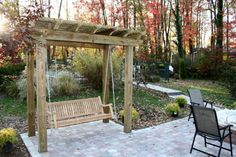 Check the best online offers and get cheap wooden porch swings, canopy swings with cup holders and the most popular outdoor patio swing sets for sale. Description from landscapinggallery.info. I searched for this on bing.com/images