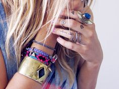 bangle and rings....finger tattoos
