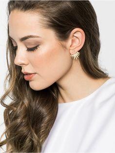 Jumbo Cairo Ear Jackets Earring | BaubleBar. These are fun too!!!