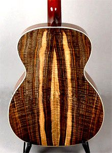 Claro Walnut Acoustic Guitar by Bamburg Guitars