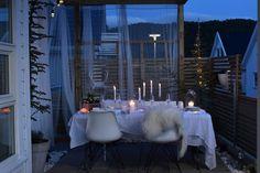 Utesesongen er i gang og jeg har dekket bordet i hagen! – Maren Baxter