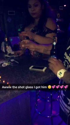 The shot glass I got for my friend (: