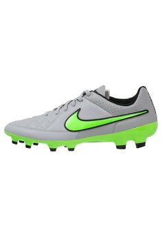 buymadesimple.com: Nike Performance TIEMPO GENIO FG Scarpe da calcio con tacchetti wolf grey/green strike/black