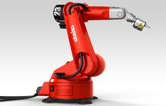 "ABEITA//ROBOTARM - The robot arm ""abeita"" is a design draft based on the character, size and structure of the from Reis Robotics. Industrial Robots, Institute Of Design, Robot Arm, Robot Design, Mechanical Design, Outdoor Power Equipment, Design Inspiration, Technology, Cool Stuff"