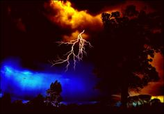 Very Heavy Thunderstorm by eskile.deviantart.com on @deviantART