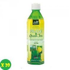 Tropical Bevanda aloe vera & green tea lemon confezione da 20 bottiliette a soli 29,90€
