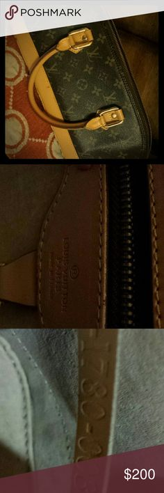 Hi my loves.... Louis Vuitton bag Genuine Product!!! Serial # inside. A little wray and tear. Have not been used in 5years. Louis Vuitton Bags Mini Bags