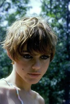 edie sedgwick short hair - Google Search