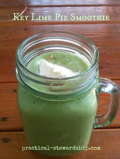 SCD Key Lime Pie Smoothie DF (*Use coconut milk, SCD coconut 'whipped cream' & omit graham cracker garnish option...)