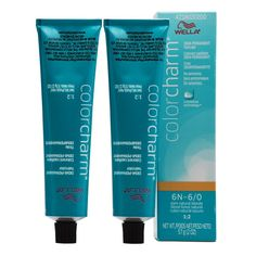 Wella Color Charm Demi-Permanent Haircolor 6N Dark Natural Blonde 'Pack of 2' ** To view further for this item, visit the image link.