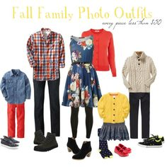 """Fall Family Photo Outfits - on a budget"" by ericandjosee on Polyvore"