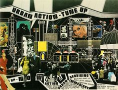 Archigram (Ron Herron) Urban Action - Tune Up... - Psychedelic Jungle