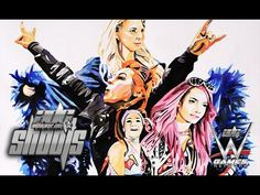 THE FOUR HORSEWOMEN TAKING OVER WWE | ADG Shoots