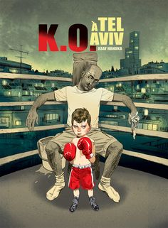 """Asaf Hanuka is an Iraqi married to a Polish woman living in Tel Aviv. His comic-style artwork is AMAZING. He now has a book out """"K.O. a Tel Aviv"""". It is in French, but his online comics are all in English and Hebrew."""