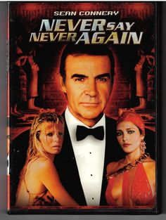 Never Say Never Again DVD Out of Print & Rare - Sean Connery James Bond Movie
