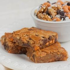 Chewy, Chunky Blondies recipe