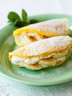 【ELLE a table】ふわふわバナナパンケーキレシピ|エル・オンライン