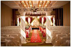 Indian wedding mandap on IndianWeddingSite.com. Photo by SYPhotography.com