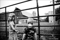 children and the farm.