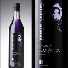 Violet Liqueur - Benot Serres