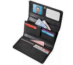 Peňaženka z jahňacej kože | blancheporte.sk #blancheporte #blancheporteSK #blancheporte_sk #vianoce #darcek #premuzov #moda Hardware, Wallet, Shopping, Etsy, Compact, Products, Fashion, Lambskin Leather, Atm Card