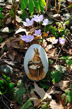 Victorian scrap egg made with a blown swan egg...dreaming of Spring.