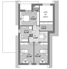 Projekt domu Arystoteles 144,5 m2 - koszt budowy - EXTRADOM Indian House Plans, Indian Homes, Exterior, Dream House Plans, Facade House, Home Fashion, Bungalow, My House, Villa