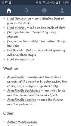 List of elemental abilities 9-9