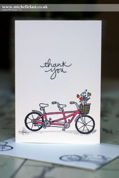 Thank You Card made for International Blog & Project Highlight - with Michelle…