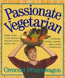 One of my books... Carmen Dragonda. Do I really look like this? Sure, ten years ago, with ten pounds of make-up, a professional photographer, and a bowl of vegetables on my head!