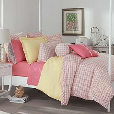 Southern Tide Patio PlaidMoonlight YarnDye Mini Comforter Set FullQueen ** You can find out more details at the link of the image.