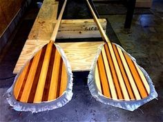 How to make a paddle for a standup paddle board.