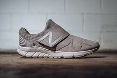 New Balance Introduces Sweatshirt Editions of Its Vazee Rush Slip-On: Like a comfy crewneck for your feet. Air Jordan, Adidas, Reebok, Nba, Grey Sneakers, Sneakers Design, Shoes Sneakers, Men's Wardrobe, New Balance Shoes