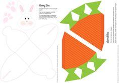 DIY Easter Bunny Box & Carrot Box