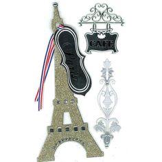 Jolee's Boutique® | Eiffel Tower Parcel Le Grande Dimensional Stickers