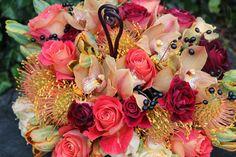 Shades of Autumn fall wedding flowers