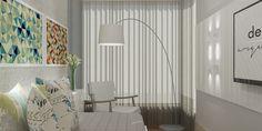 Projeto Desígnio Arquitetos RAB.Reforma da quarto de hóspedes para melhor aproveitamento de um pequeno espaço. #desígnioarquitetos#arquitetura #design #decoração