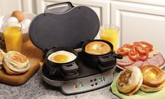 Groupon - Hamilton Beach Dual Breakfast Sandwich Maker in [missing {{location}} value]. Groupon deal price: $39.99