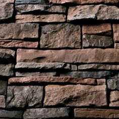 Order Kodiak Mountain Stone Manufactured Stone Veneer - Ready Stack Stone Panels Mahogany / Ready Stack / 120 Sq Ft Crate, delivered right to your door. Stacked Stone Panels, Textured Wall Panels, Zero Clearance Fireplace, Coffee Shop Business Plan, Manufactured Stone Veneer, Siding Options, Wood Mantle, Stone Facade, Wooden Planters