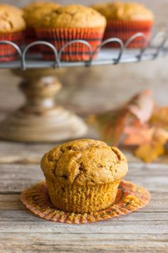 Best Ever Pumpkin Muffins - perfectly sweet with just a little spice!My hubby made these this week and they are the best pumpkin muffins I've ever had. Best Pumpkin Muffins, Pumpkin Muffin Recipes, Pumpkin Bread, Pumpkin Spice, Sugar Pumpkin, Spiced Pumpkin, Coconut Recipes, Baking Recipes, No Bake Desserts