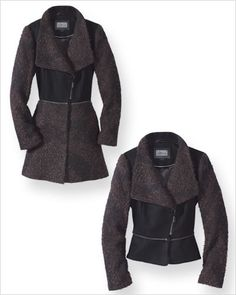 Fall-to-Winter Convertible Coats - Mackage Zip-Off Coat