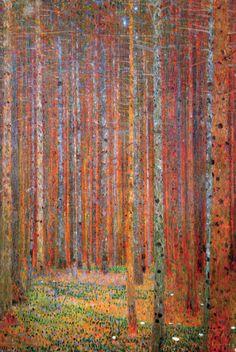 Tannenwald Kunstdrucke von Gustav Klimt - AllPosters.at
