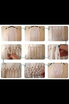 Cutting shirts :)