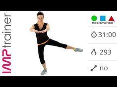 Snellire Interno Coscia, Gambe e Glutei con Esercizi Intensi - YouTube