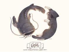 76_catfish_small, by Charles Santoso